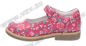 Обувь Туфли Hello Kitty артикул 6026C_26-31_222222_PL пар в коробе: 12