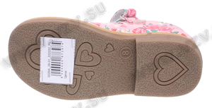 Обувь Туфли Hello Kitty артикул 6026A_26-31_222222_PL пар в коробе: 12